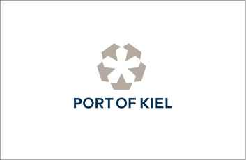 Das Logo vom PORT OF KIEL